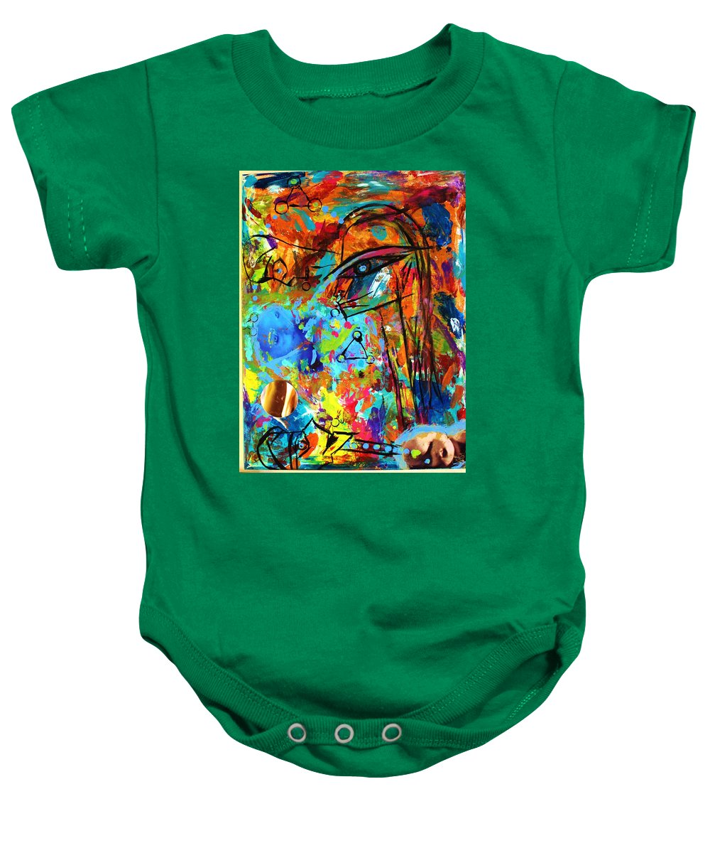 Aliens Baby Onesie featuring the photograph Aliens 4 by Danielle Valencia D