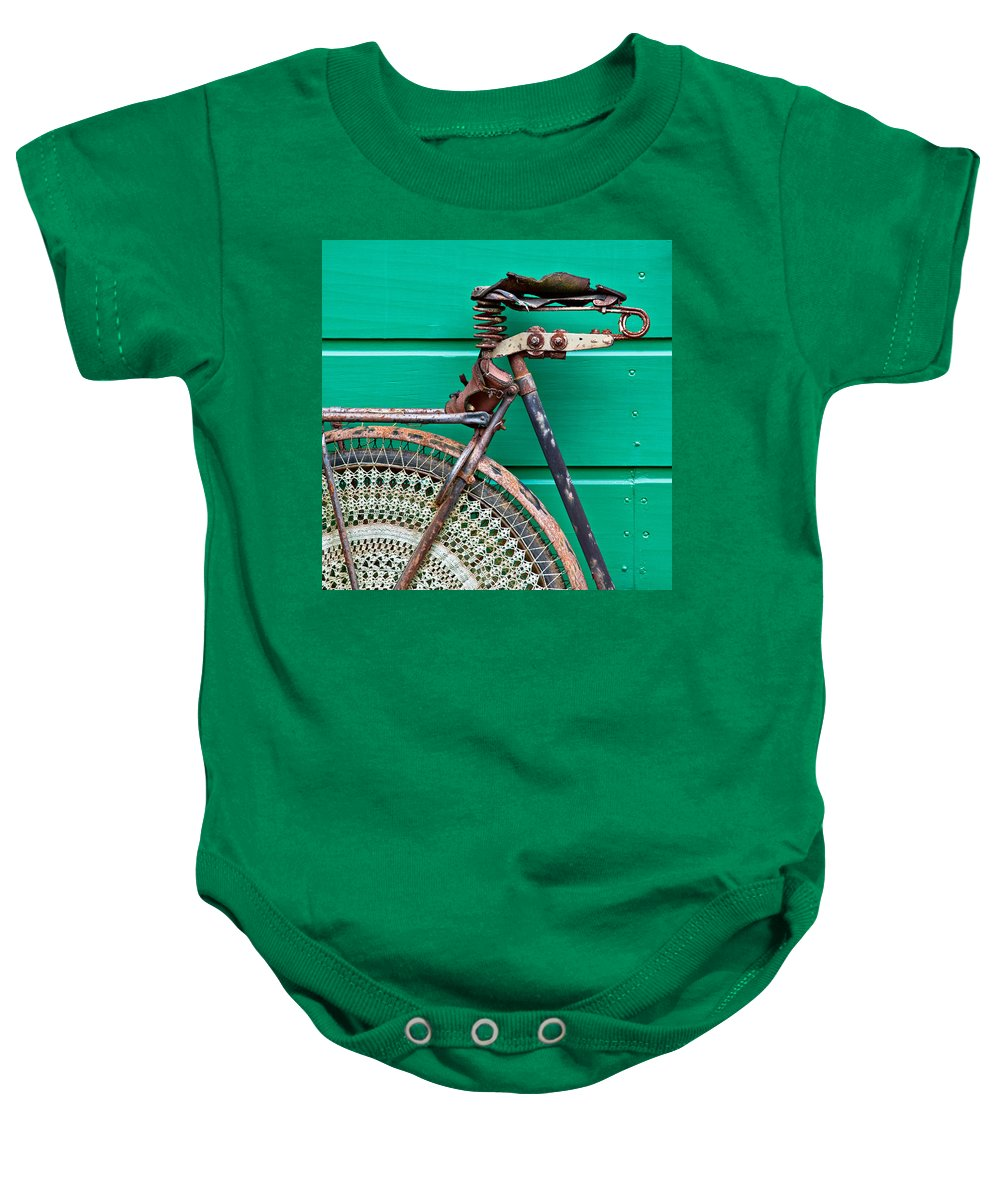 Bike Baby Onesie featuring the photograph Better Days by Dave Bowman