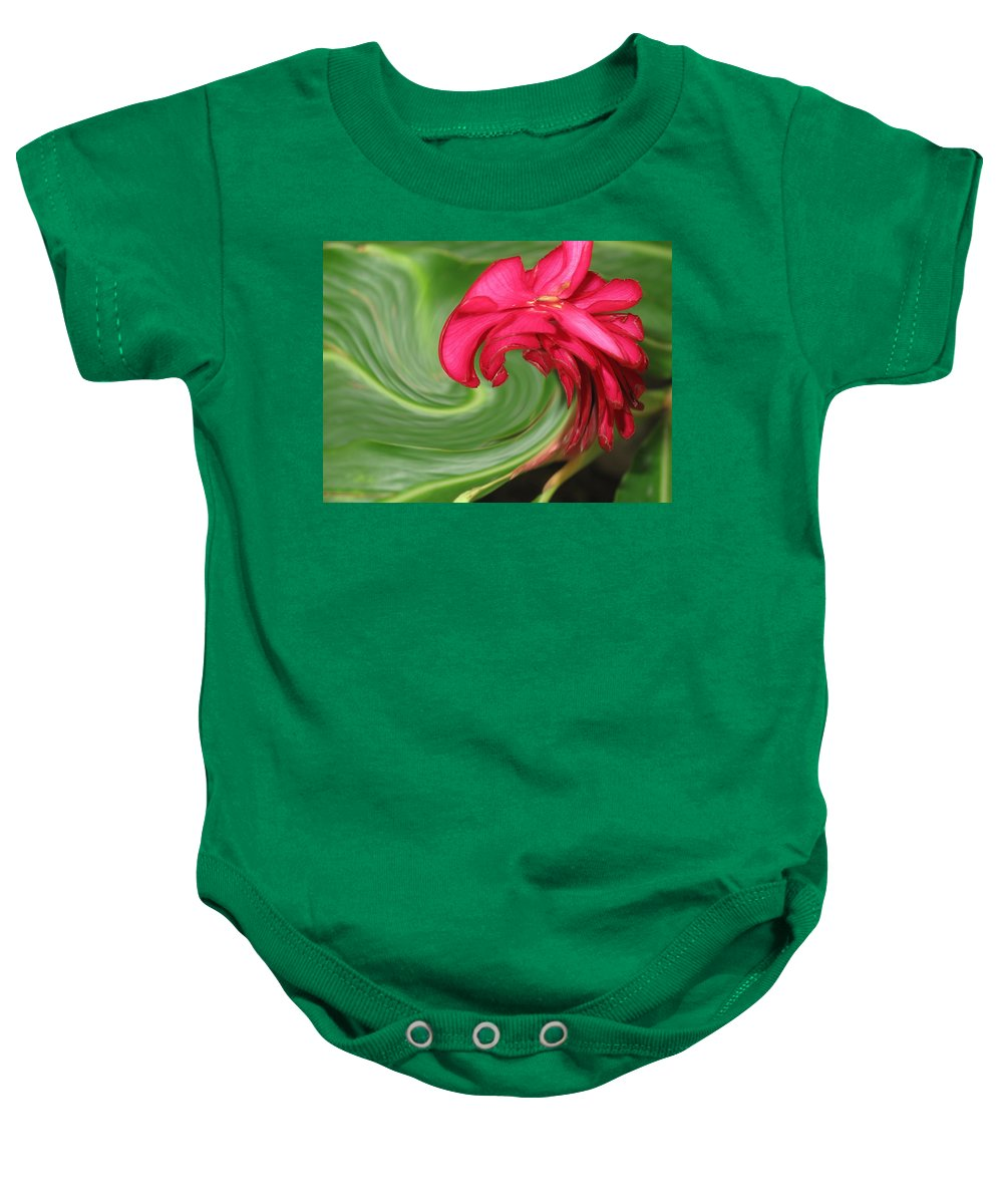 Flower Baby Onesie featuring the photograph Come To Me by Ian MacDonald