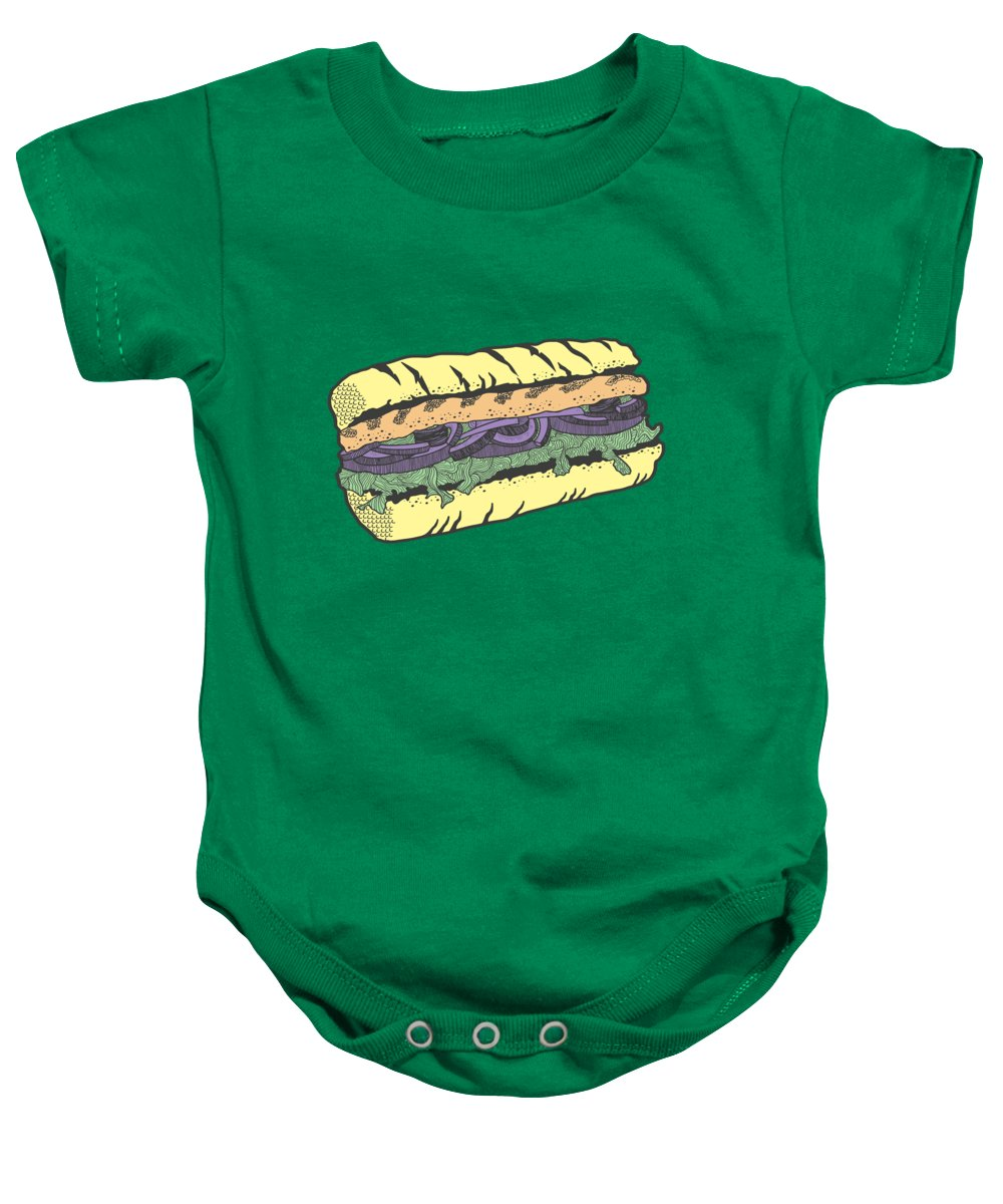 Food And Beverage Baby Onesies