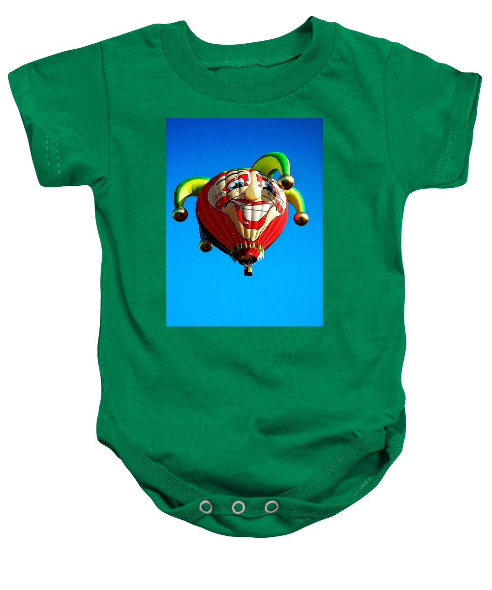 Hot Baby Onesie featuring the photograph Le Fou Du Roi by Juergen Weiss