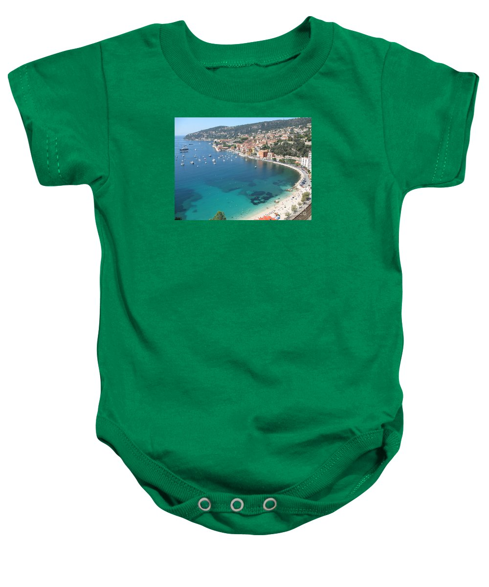 Mediterranean Sea Baby Onesie featuring the photograph Mediterranean Sea by Christiane Schulze Art And Photography
