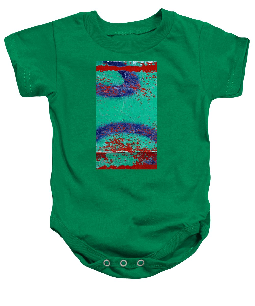 Skip Hunt Baby Onesie featuring the photograph Mr Blue Jangles by Skip Hunt