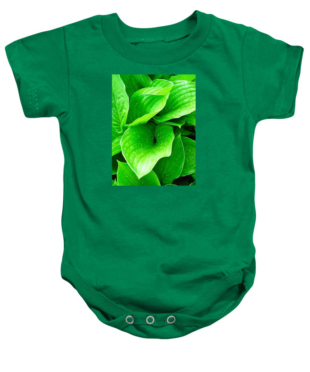 Flowers Baby Onesie featuring the photograph Rain Kissed 2 by Nelson F Martinez