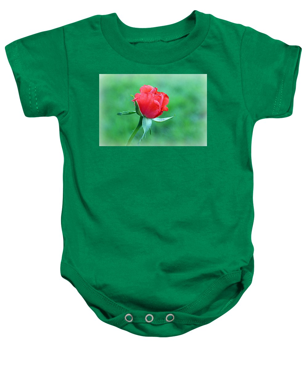 Tropicana Baby Onesie featuring the photograph Tropicana by Cricket Hackmann