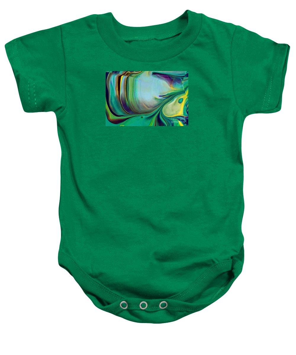 Green Flash Baby Onesies