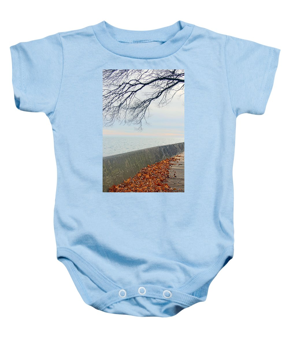 Centre Island Baby Onesie featuring the photograph After The Storm by Munir Alawi