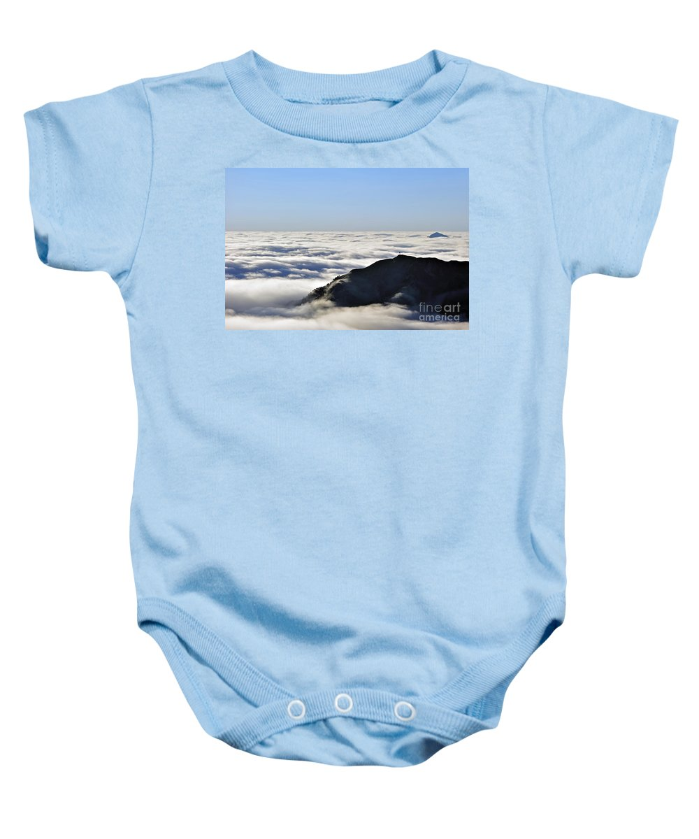 Col Du Tourmalet Baby Onesie featuring the photograph 120520p204 by Arterra Picture Library