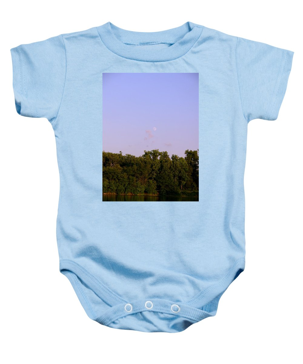 Lake Baby Onesie featuring the photograph 1275c1 by Kimberlie Gerner