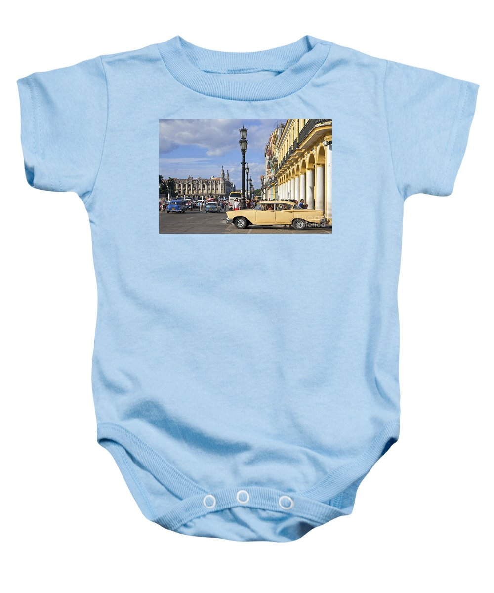 Old Baby Onesie featuring the photograph 130215p003 by Arterra Picture Library