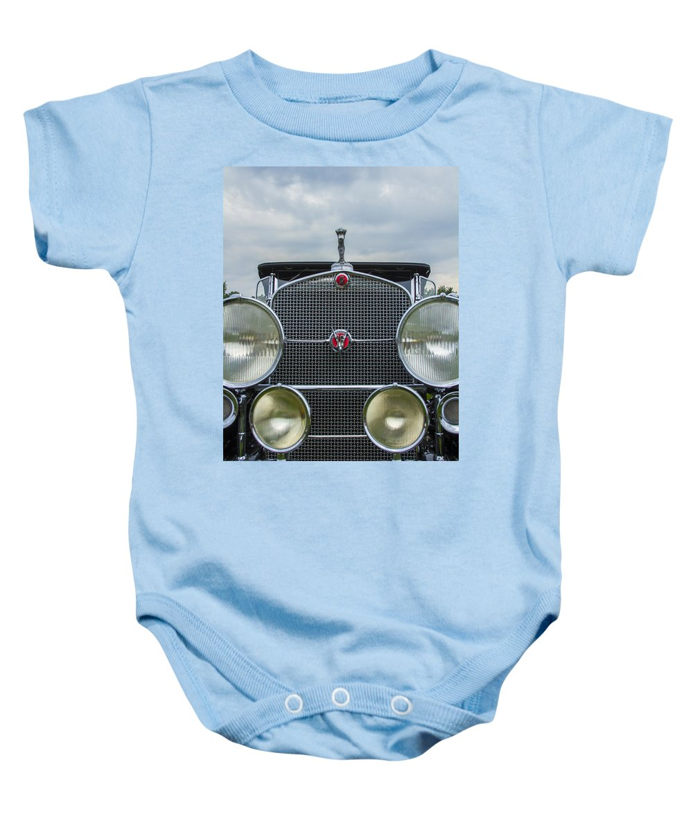 Antique Baby Onesie featuring the photograph 1930 Cadillac V-16 by Jack R Perry