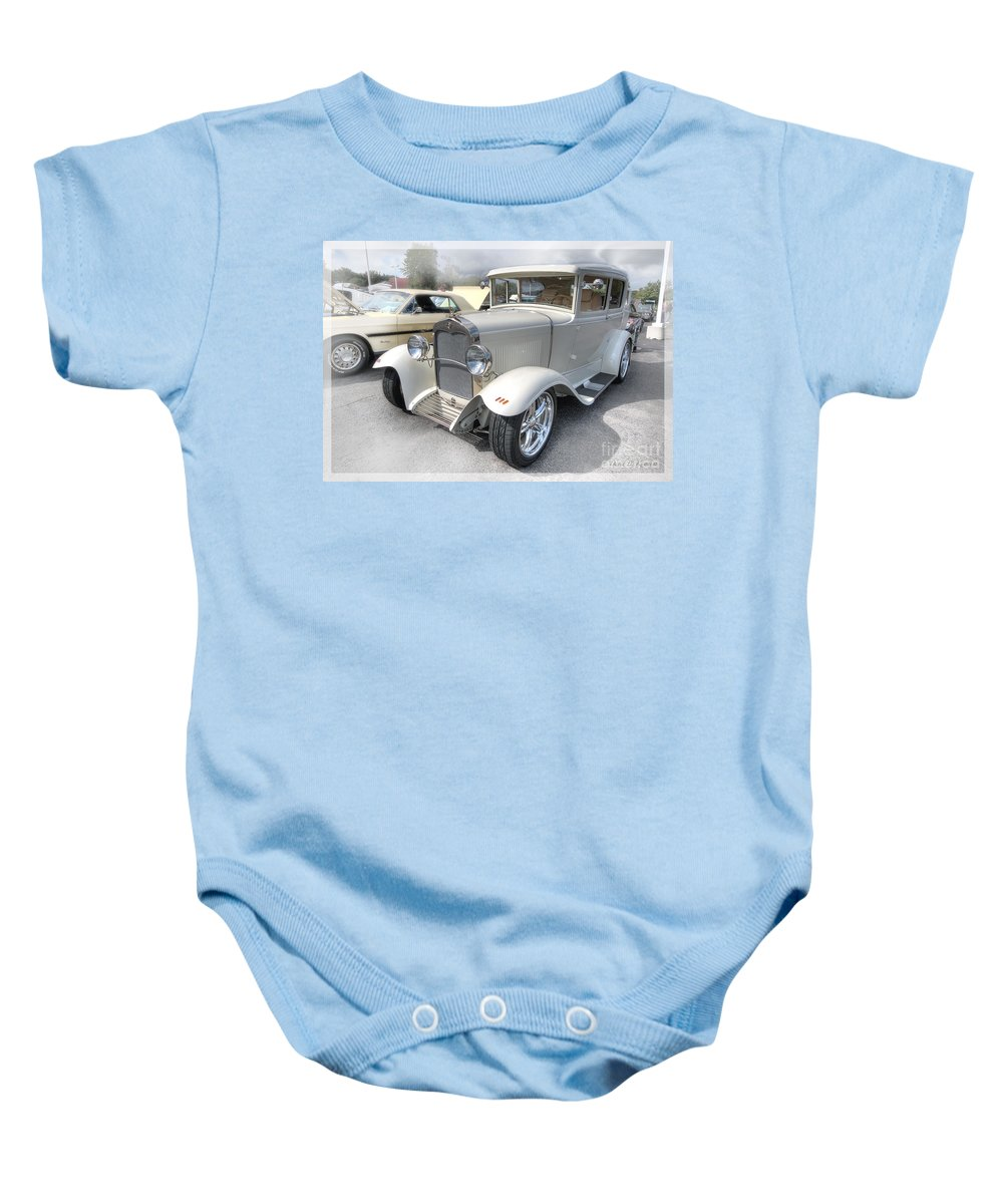 Ford Baby Onesie featuring the photograph 1930 Ford by David B Kawchak Custom Classic Photography