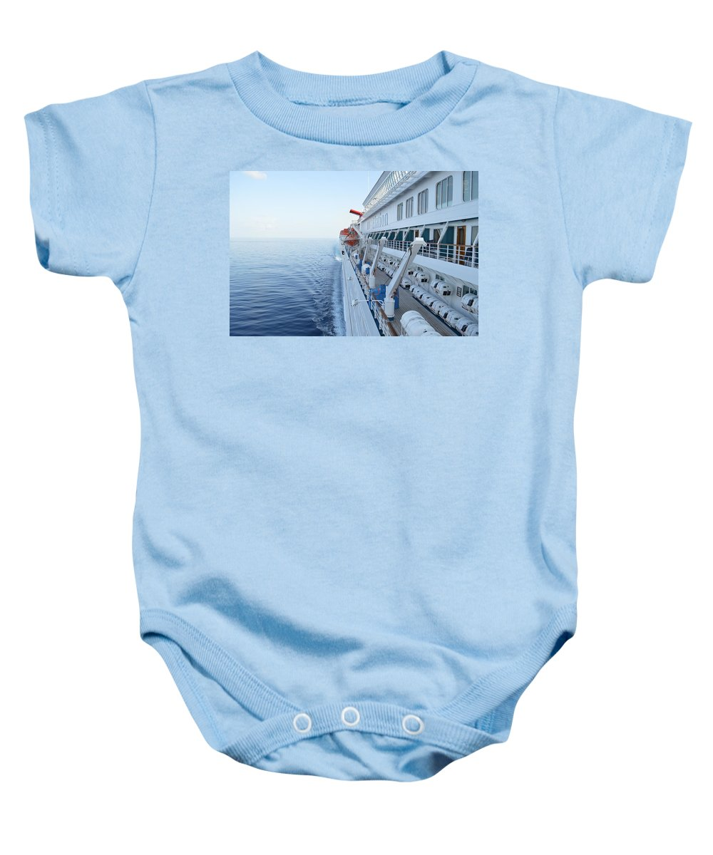 Carnival Baby Onesie featuring the photograph Carnival Elation by Richard Booth