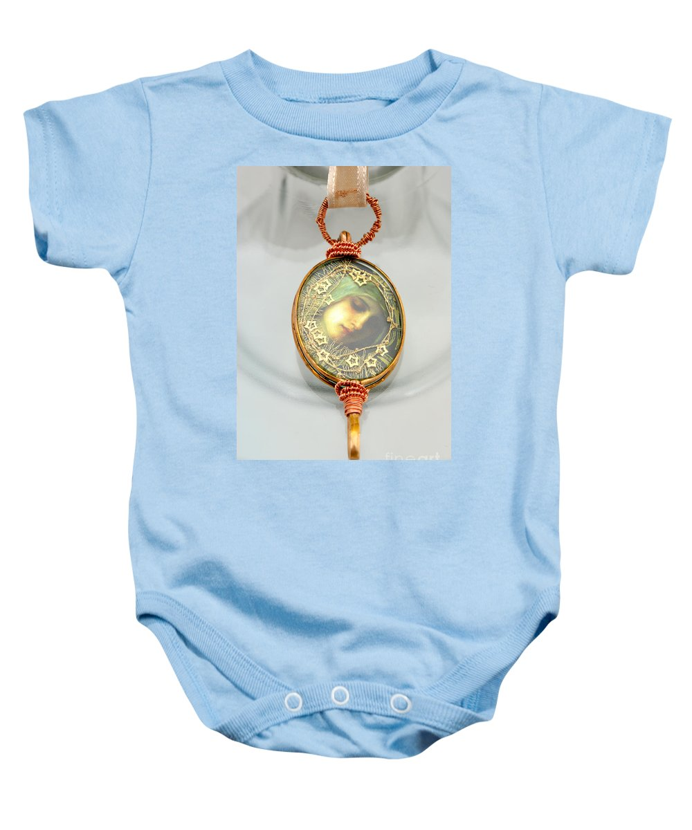 Jewelry Baby Onesie featuring the jewelry Jewelry by Judy Henninger
