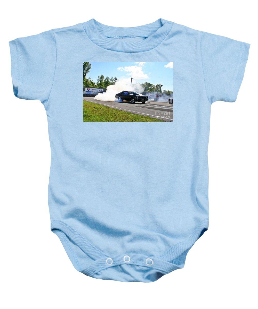 Esta Safety Park Baby Onesie featuring the photograph 4918 Esta Safety Park 08-24-14 by Vicki Hopper