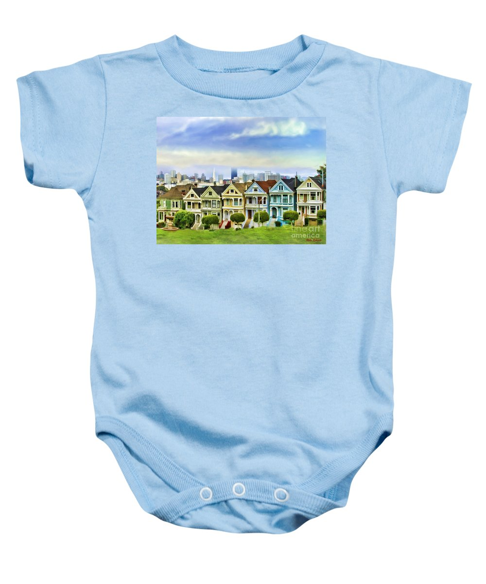 Art Photography Baby Onesie featuring the photograph Alamo Row by Blake Richards