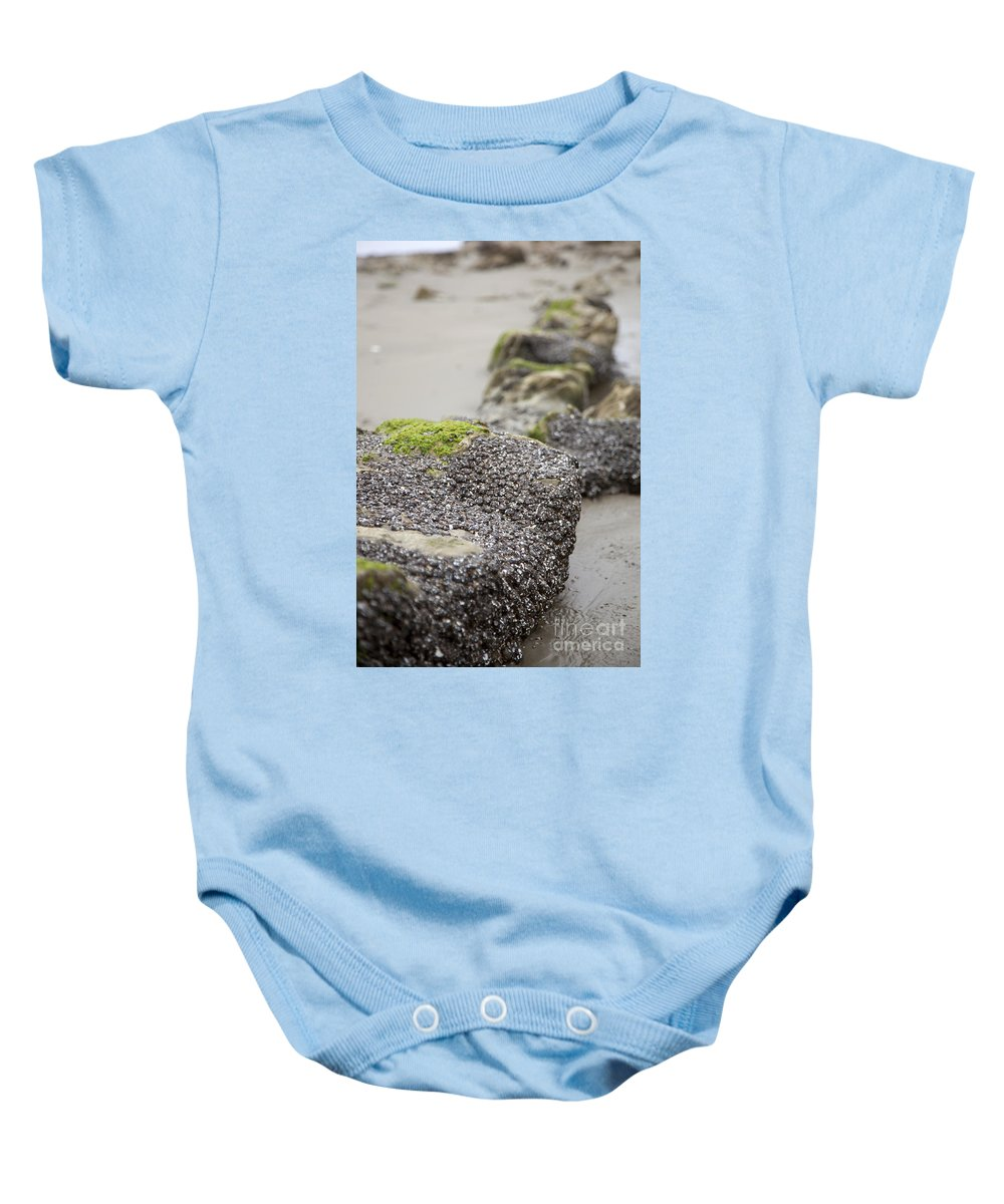 Rocks Baby Onesie featuring the photograph As You Leave by Amanda Barcon