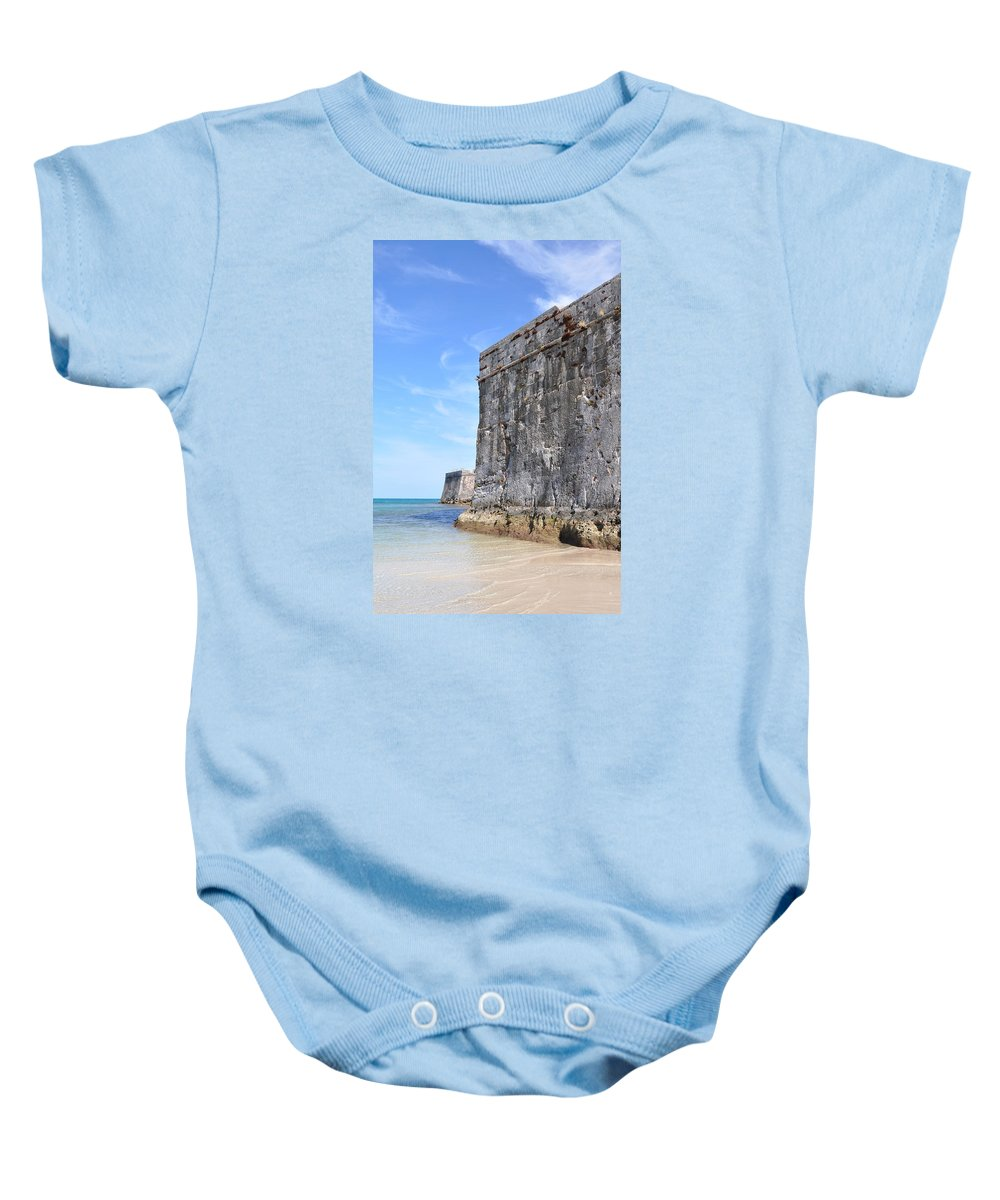 Bermuda Baby Onesie featuring the photograph Beautiful Bermuda by Laura Lowrey