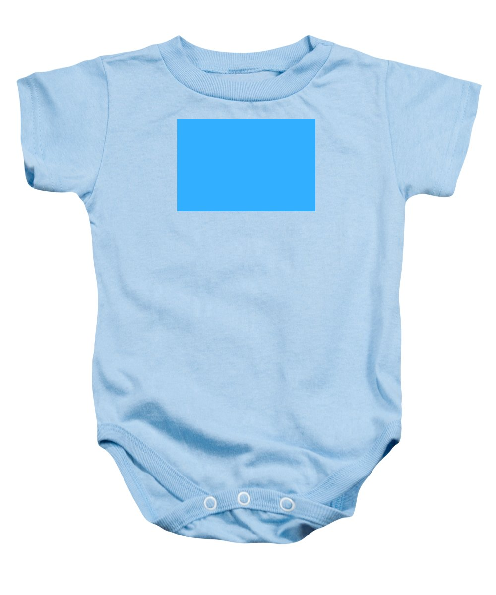 Abstract Baby Onesie featuring the digital art C.1.51-175-255.3x2 by Gareth Lewis