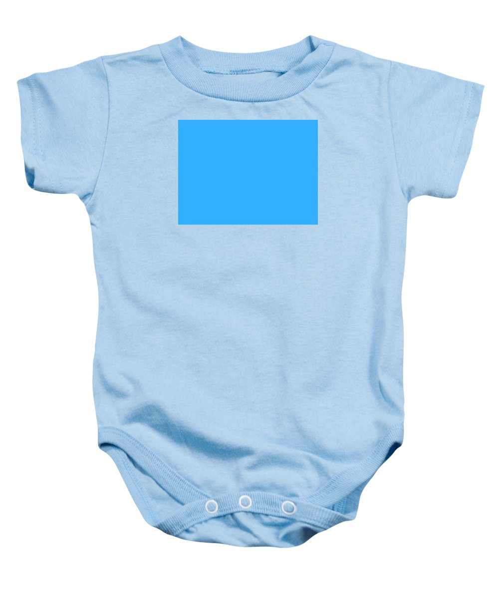 Abstract Baby Onesie featuring the digital art C.1.51-175-255.4x3 by Gareth Lewis