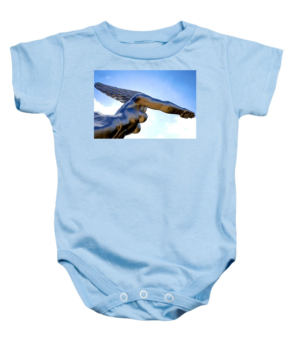 Nude Baby Onesie featuring the photograph Contralto 19 by Charlie Brock