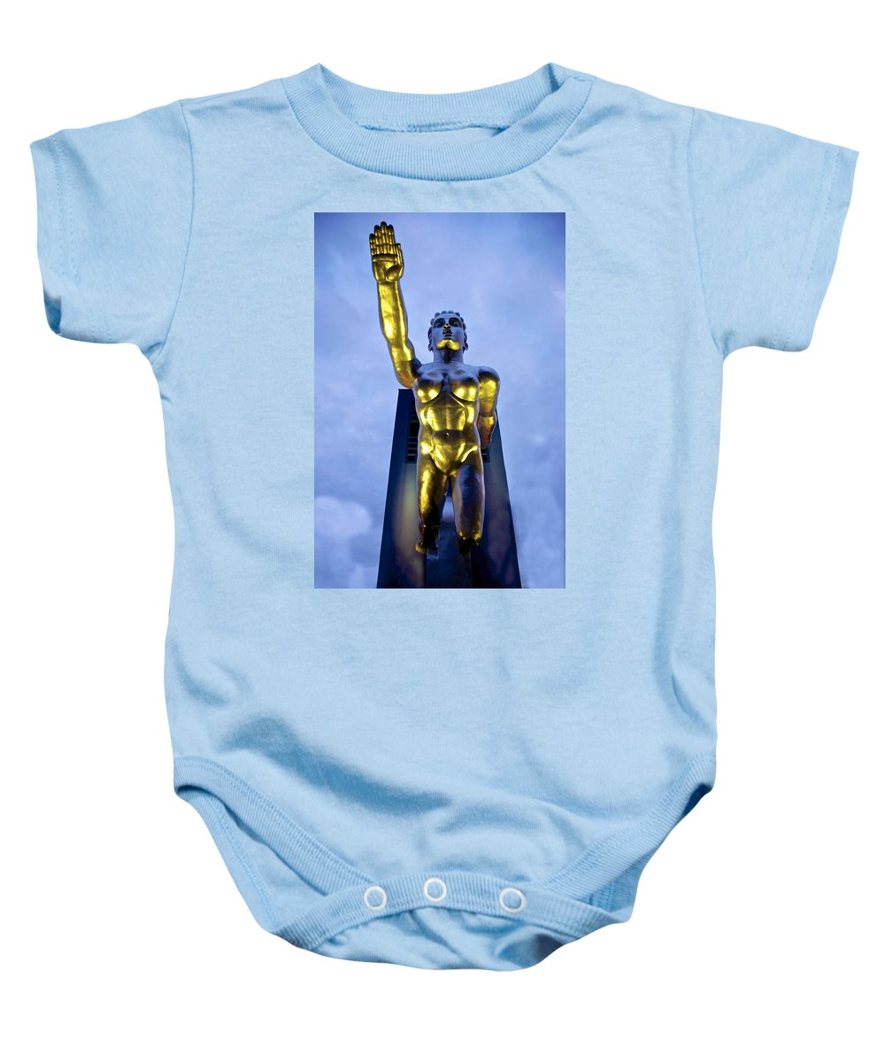 Tenor Baby Onesie featuring the photograph Contralto 23 by Charlie Brock