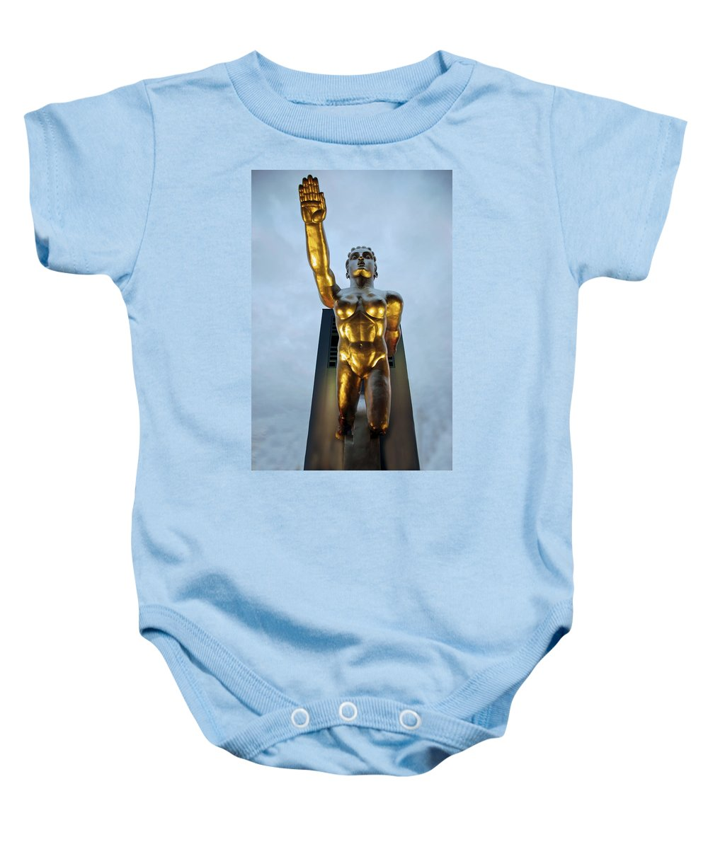 Tenor Baby Onesie featuring the photograph Contralto 24 by Charlie Brock