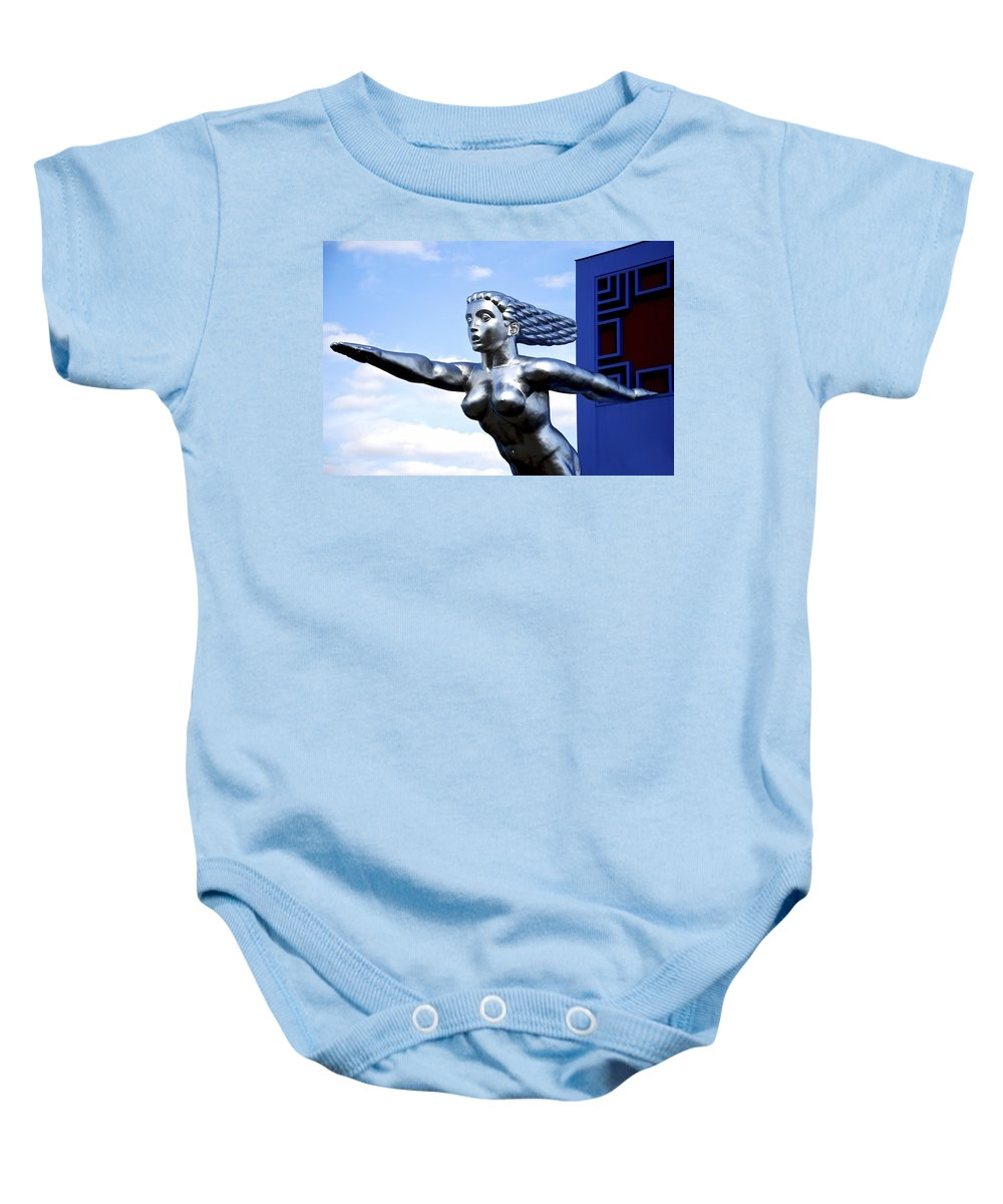 Tenor Baby Onesie featuring the photograph Contralto 7 by Charlie Brock