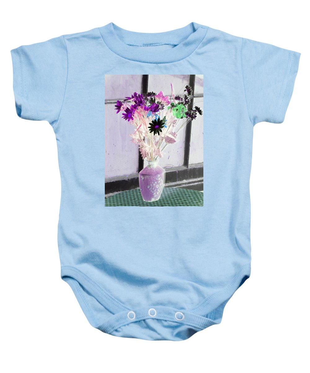 Flower Baby Onesie featuring the photograph Country Comfort - Photopower 475 by Pamela Critchlow