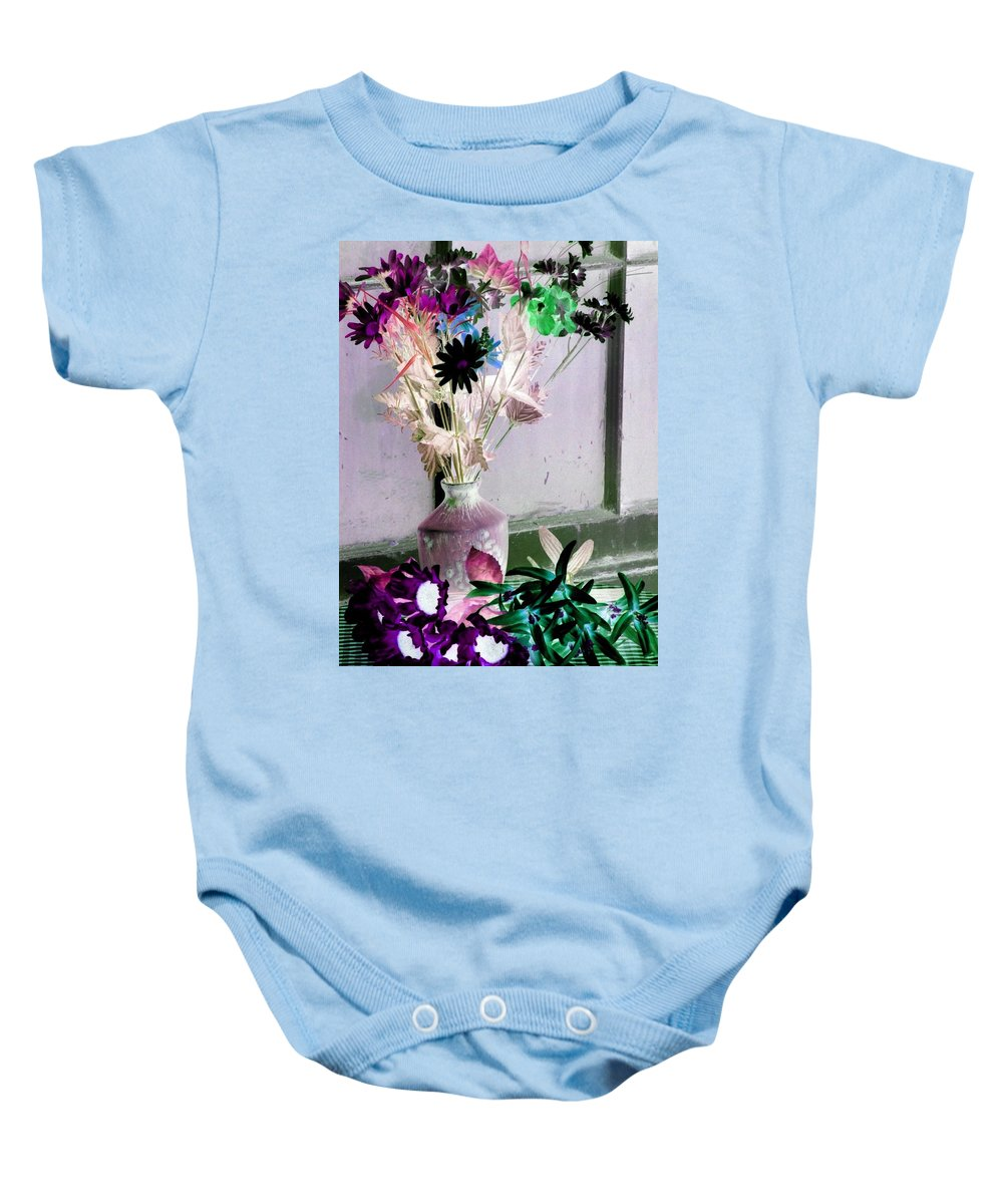 Flower Baby Onesie featuring the photograph Country Comfort - Photopower 481 by Pamela Critchlow