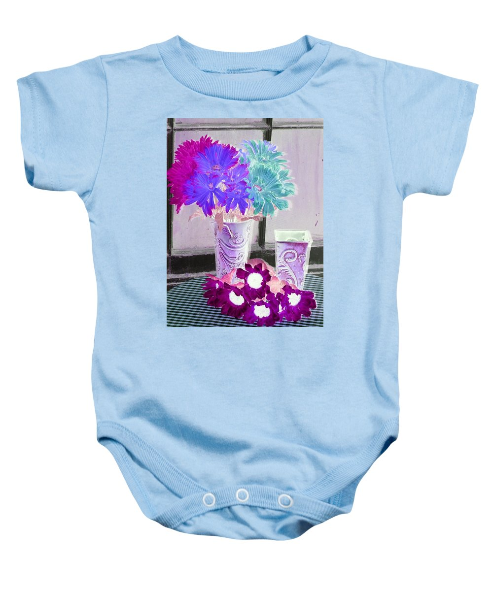 Flower Baby Onesie featuring the photograph Country Comfort - Photopower 497 by Pamela Critchlow