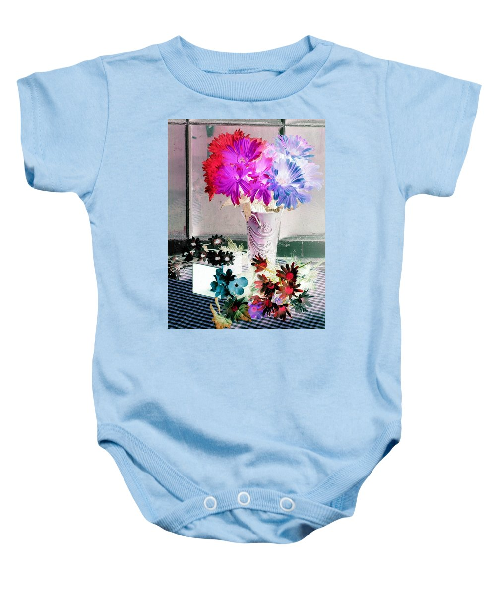 Flower Baby Onesie featuring the photograph Country Comfort - Photopower 505 by Pamela Critchlow