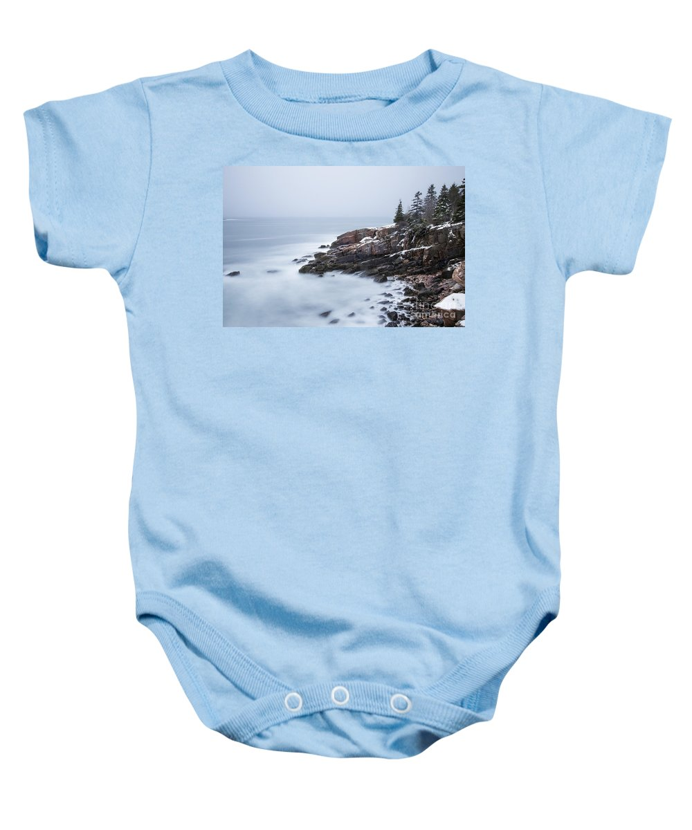 Acadia Baby Onesie featuring the photograph Dream State by Evelina Kremsdorf