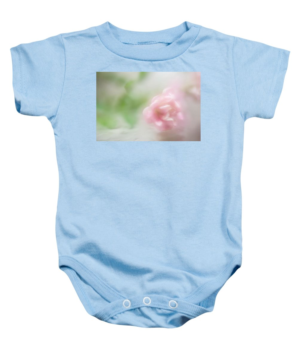Flower Baby Onesie featuring the photograph Dream With Me V by Jenny Rainbow