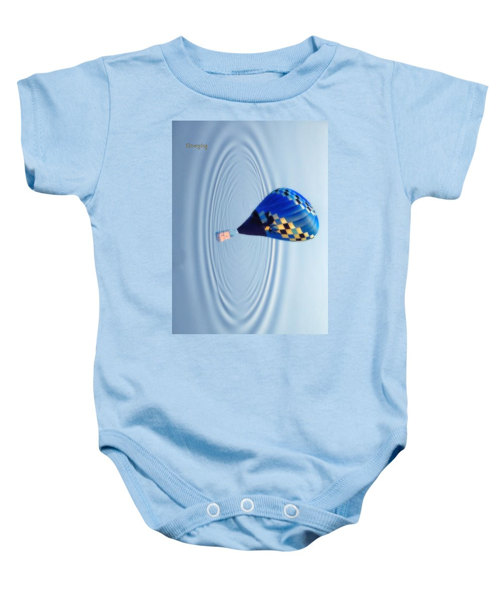 Balloon Baby Onesie featuring the photograph Emerging by Thomas Woolworth