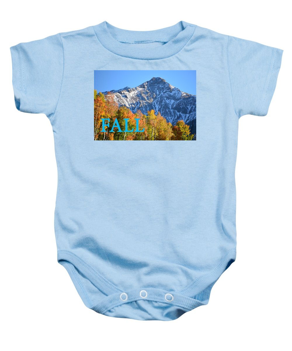 Fall Baby Onesie featuring the photograph Fall Colors Cover Work by David Lee Thompson