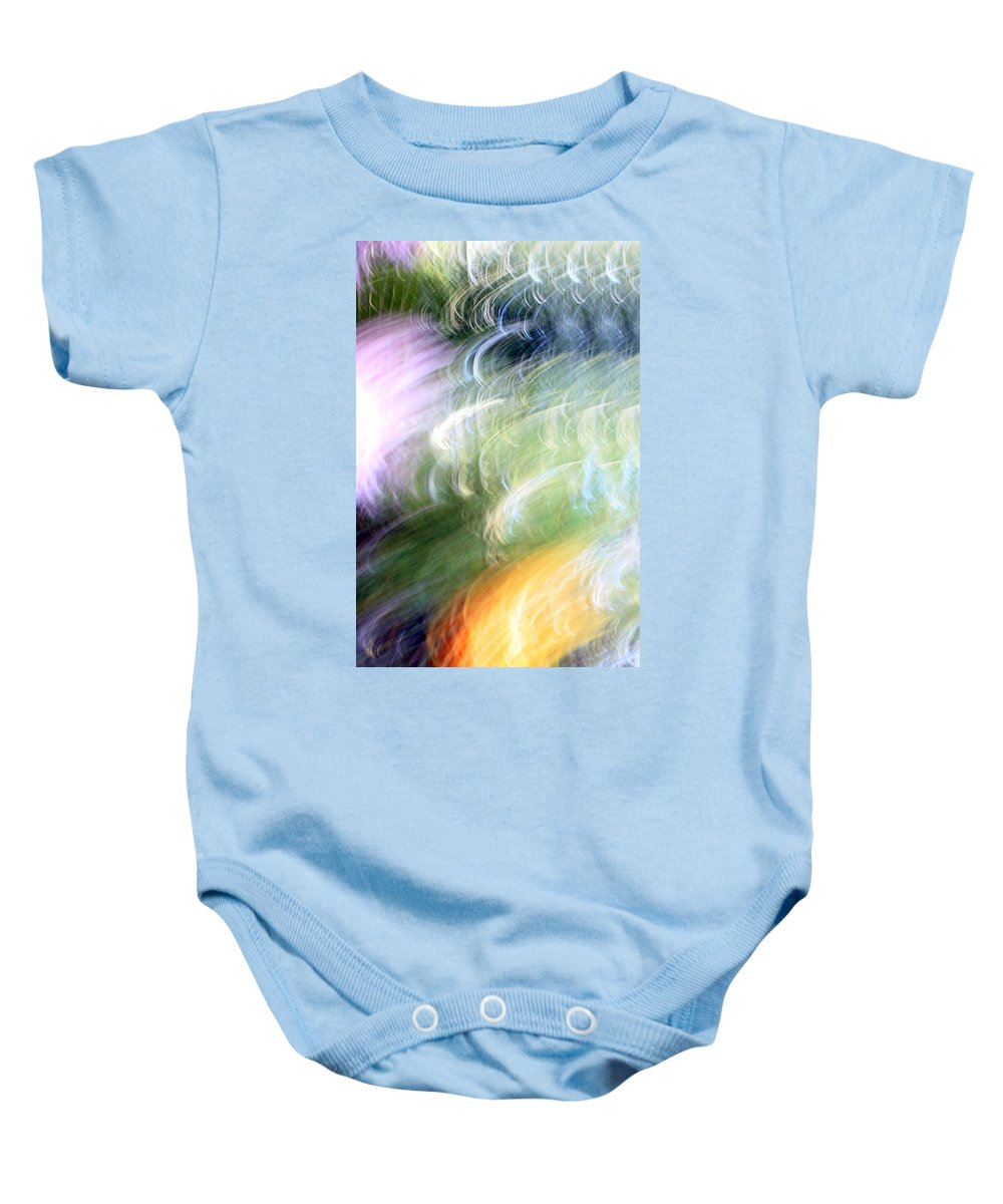 Colors Baby Onesie featuring the photograph Galaxy Colors by Munir Alawi