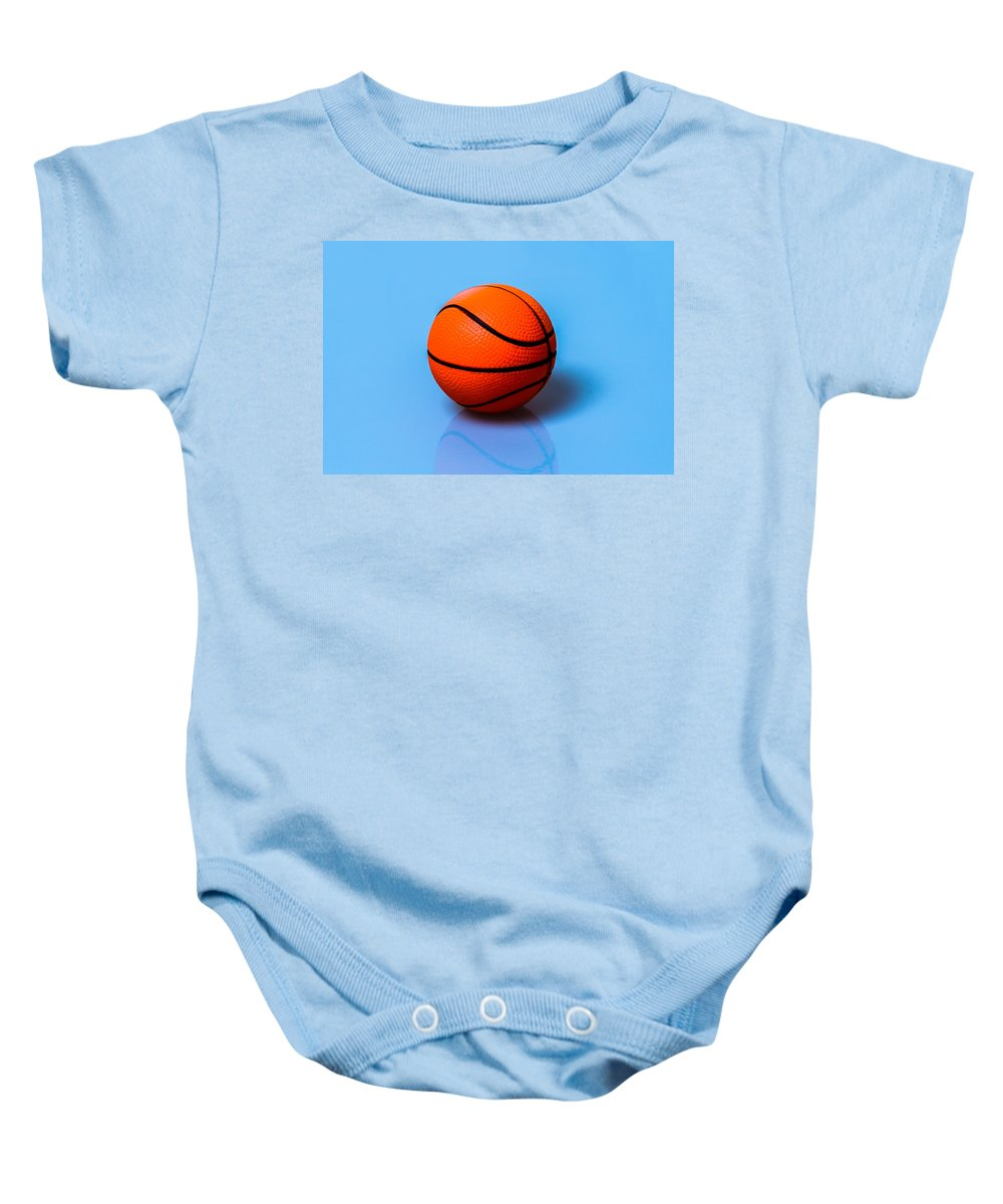 Basketball Baby Onesie featuring the photograph Glory To Basketball by Alexander Senin