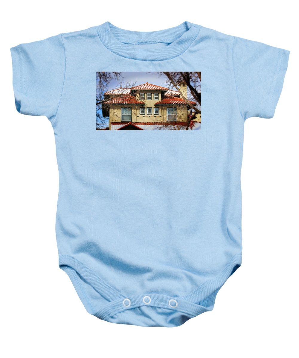 Baby Onesie featuring the photograph House by Sylvia Thornton