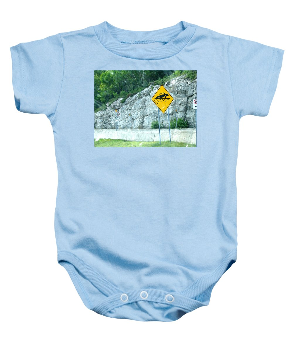 Baby Onesie featuring the photograph Hummm Attention To ...lolllllllllllll by Line Gagne