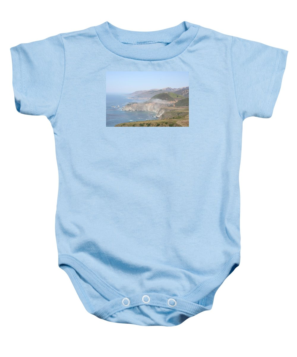 Coast Baby Onesie featuring the photograph Idyllic Coast - Big Sur California by Christiane Schulze Art And Photography