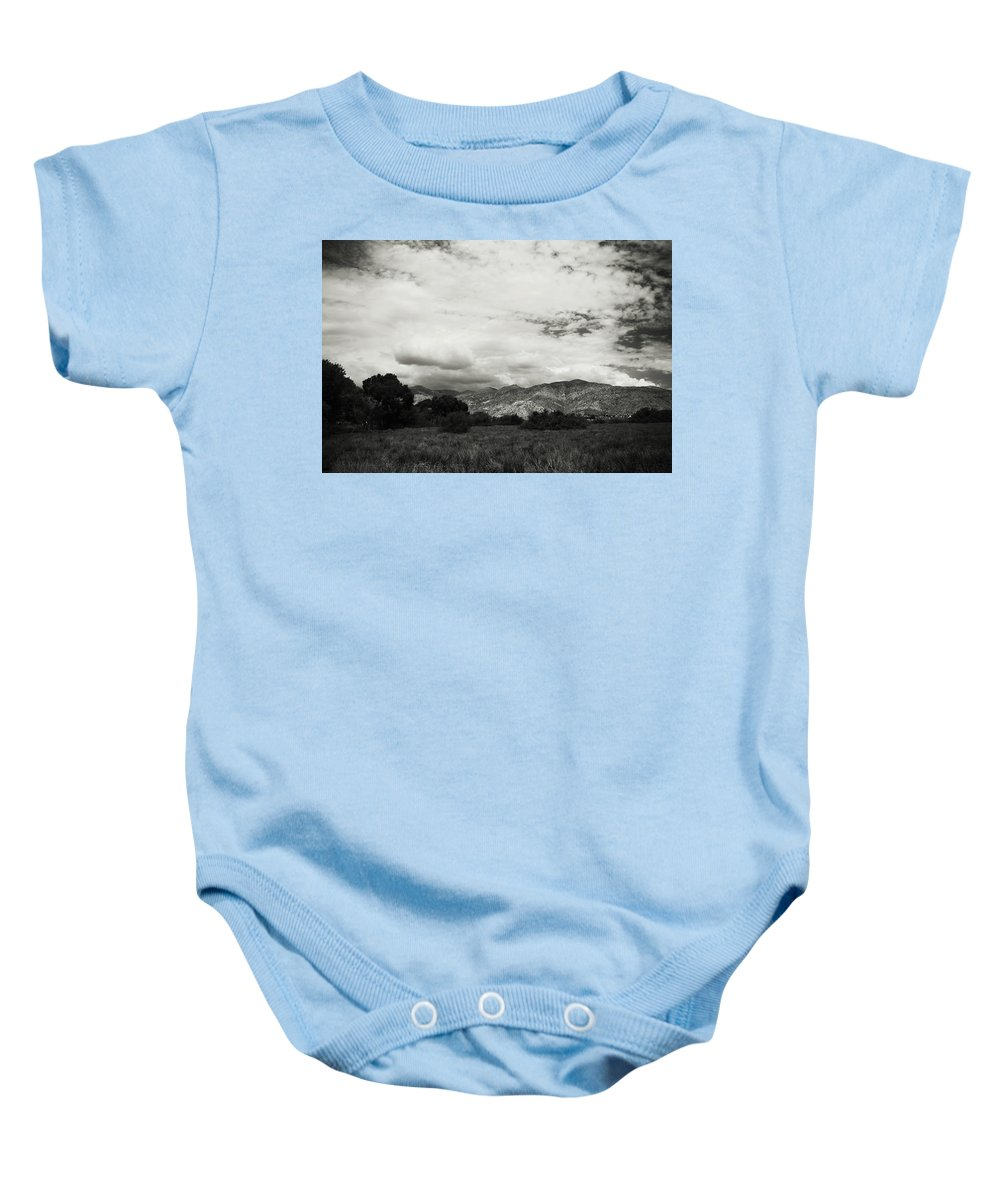 Big Morongo Canyon Preserve Baby Onesie featuring the photograph If Your Strength Is Gone by Laurie Search