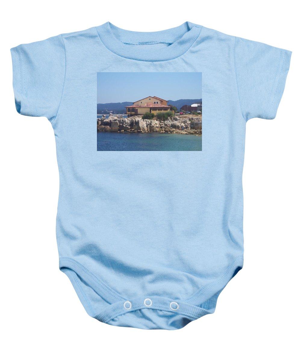 Monterey Baby Onesie featuring the photograph In Monterey by Pharris Art