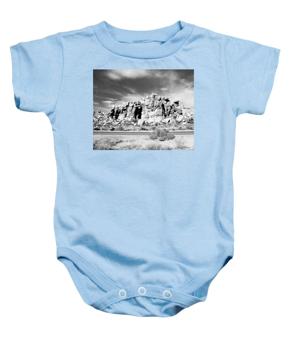 Joshua Tree Baby Onesie featuring the photograph Joshua Tree 6 by Alex Snay