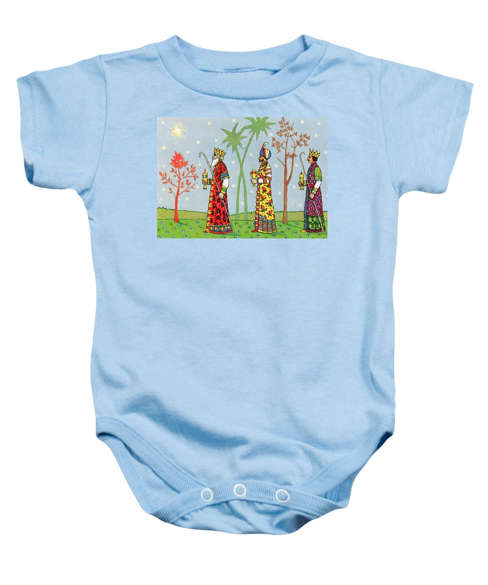 Vintage Baby Onesie featuring the photograph Kings With Gifts by Munir Alawi