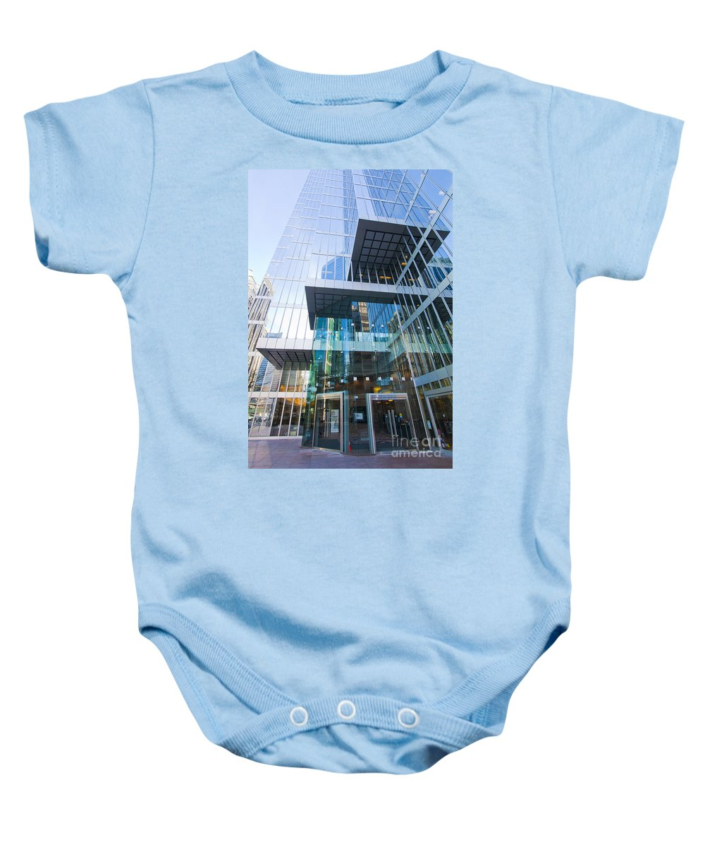 Layers Baby Onesie featuring the photograph Layers by Chris Dutton