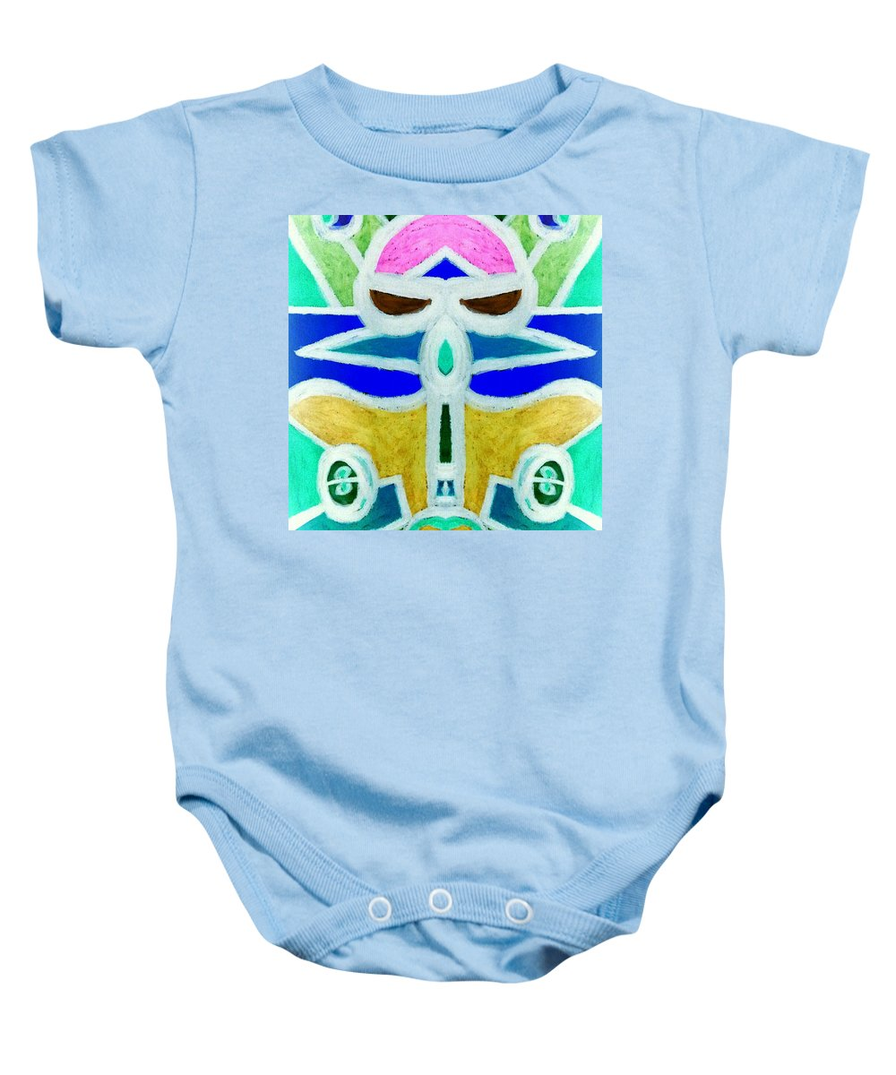 Planes Baby Onesie featuring the digital art Let's Ride by Tina Vaughn