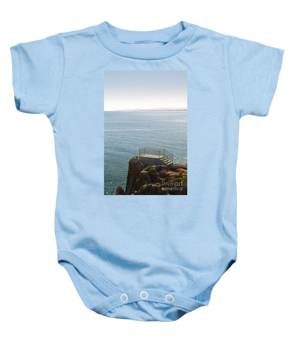 Australia Baby Onesie featuring the photograph Lookout by Tim Hester
