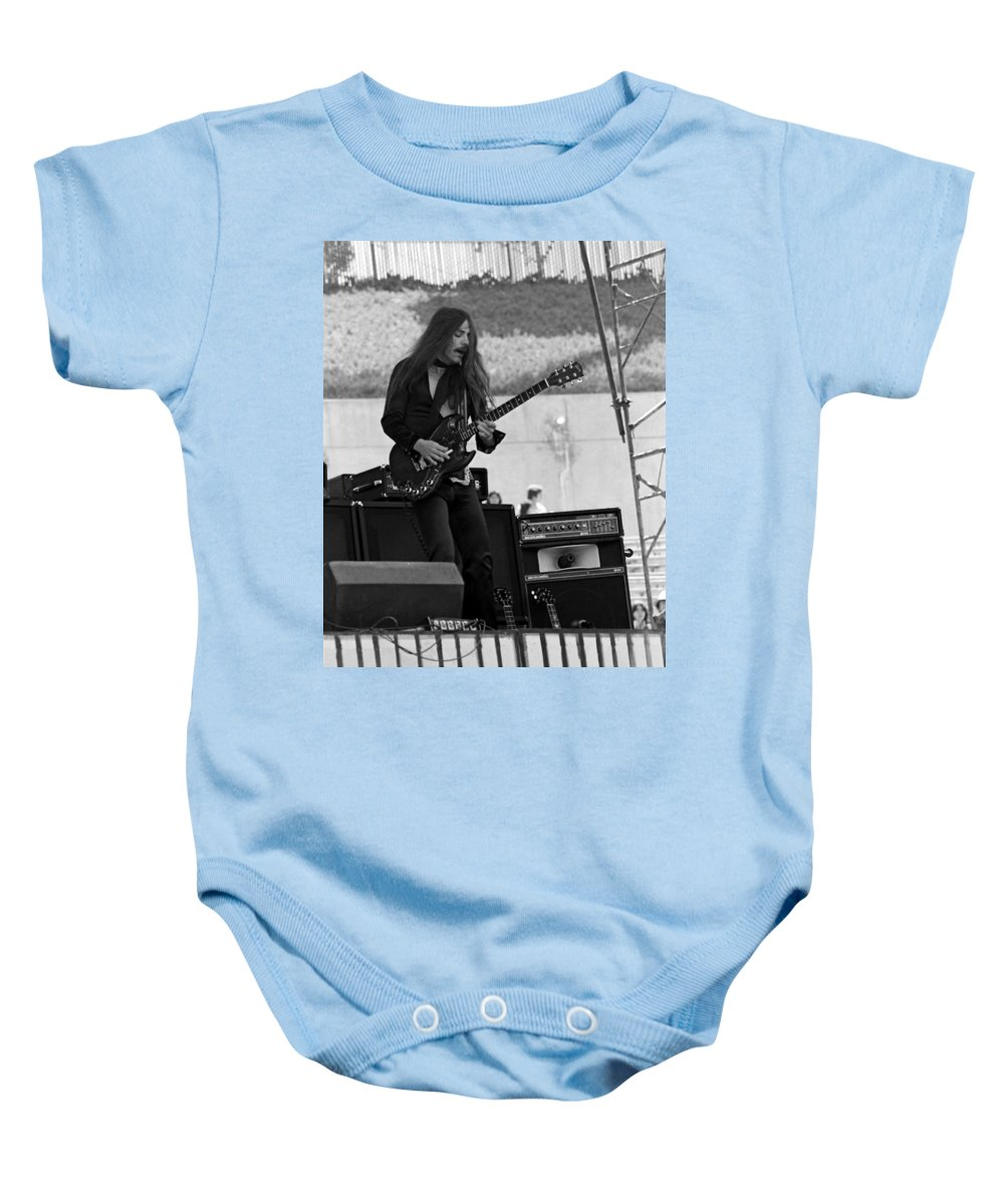 Frank Marino Baby Onesie featuring the photograph Mrdog #1 by Ben Upham