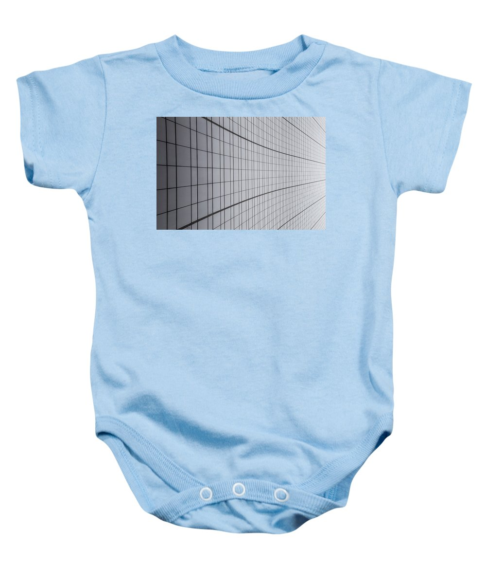 Lines Baby Onesie featuring the photograph Never Ending by Karol Livote